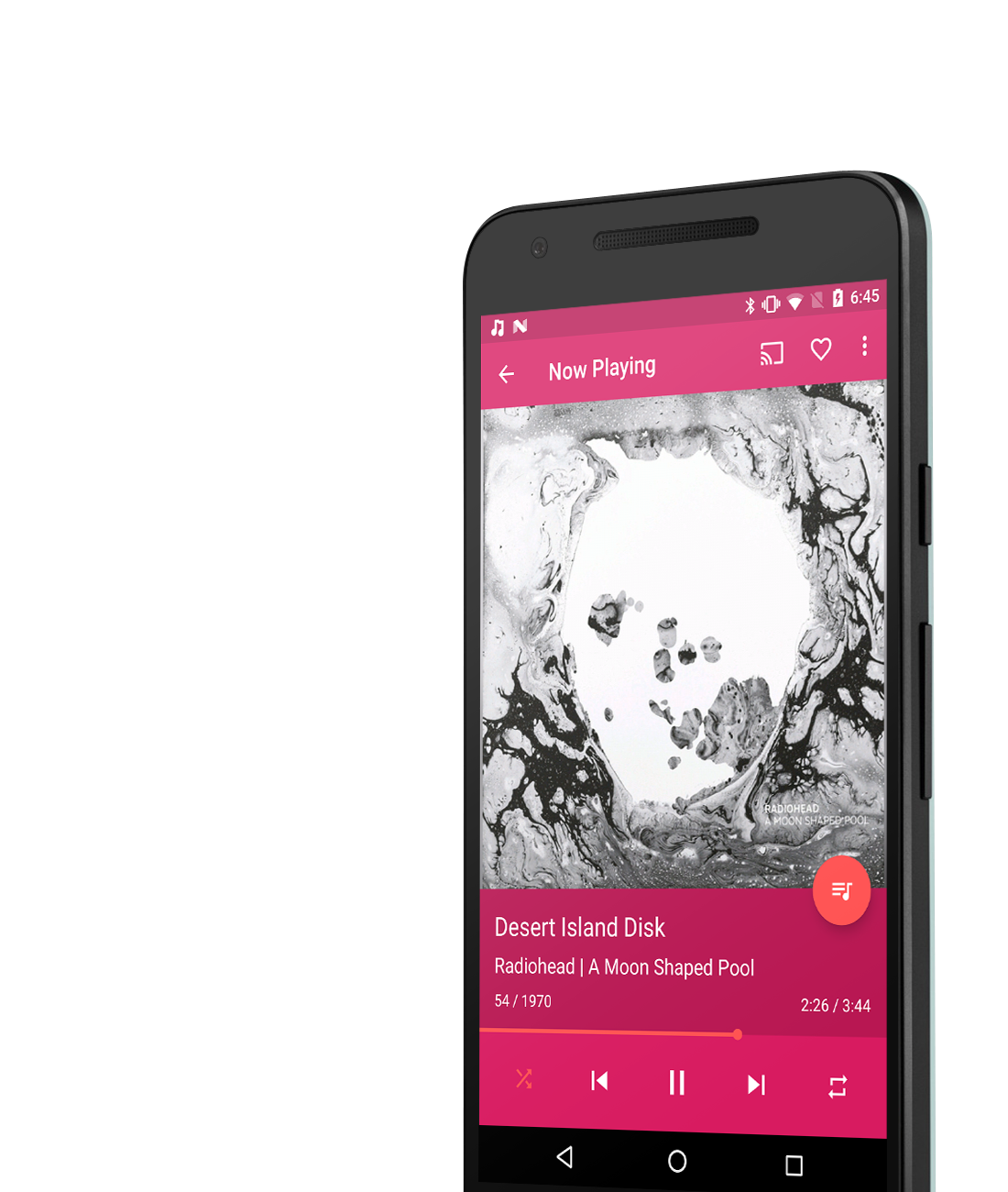 smart shuffle music app android
